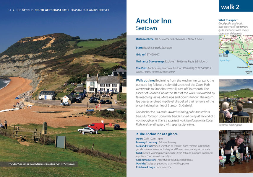 South West Coast Path, Dorset - Best Pub Walks