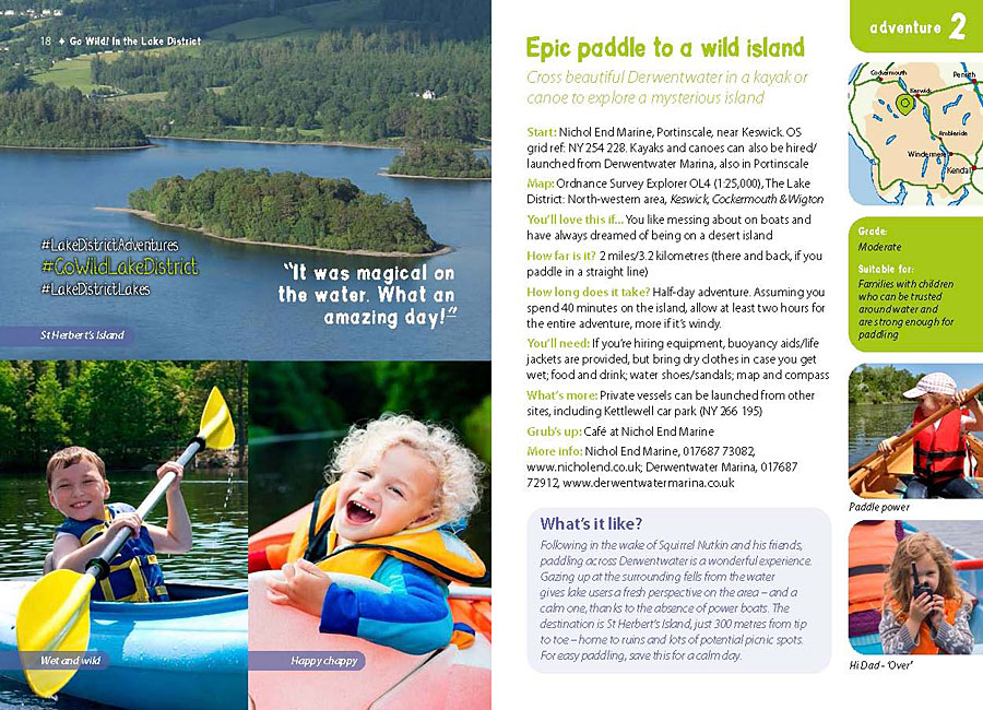 Go Wild! family adventures in the Lake District - overview, introduction and details