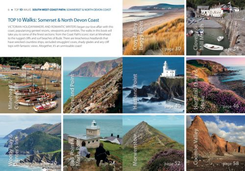 South West Coast Path, Somerset & North Devon - circular walks