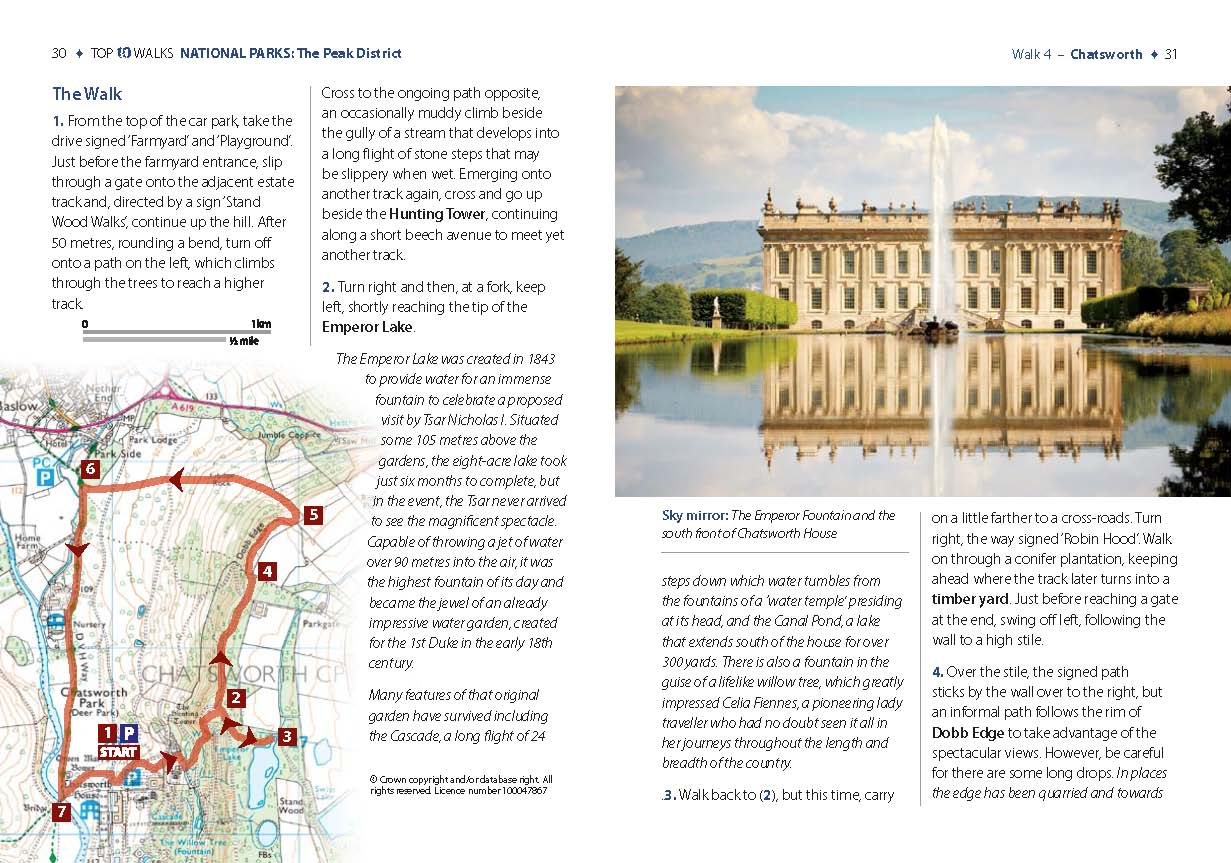 Top 10 Walks: National Parks: Peak District - Chatsworth walk