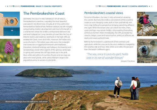 Pembrokeshire: Walks to coastal viewpoints - introduction