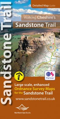 Sandstone Trail Ordnance Survey mapping atlas - the whole trail in a pocket size book