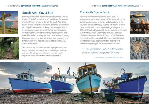 South West Coast Path, South Devon - circular walks