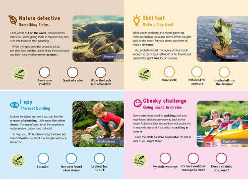 Go Wild! family adventures in the Lake District - interactive challenges