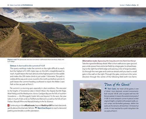 Best Llyn coast path walks