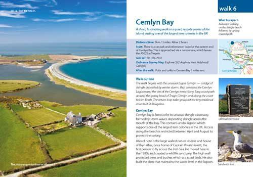 Cemlyn Bay walk