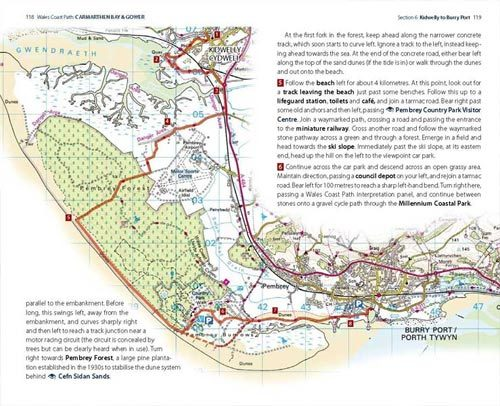 Carmarthen Bay and Gower Coast Path official guide