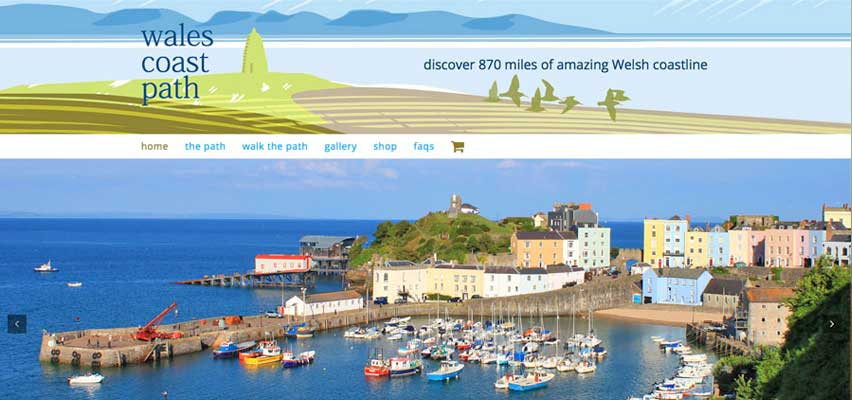 Best Wales walking books