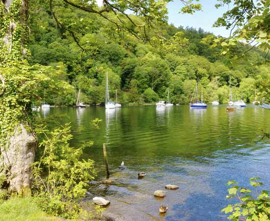 Windermere is the largest lake in the English Lake District