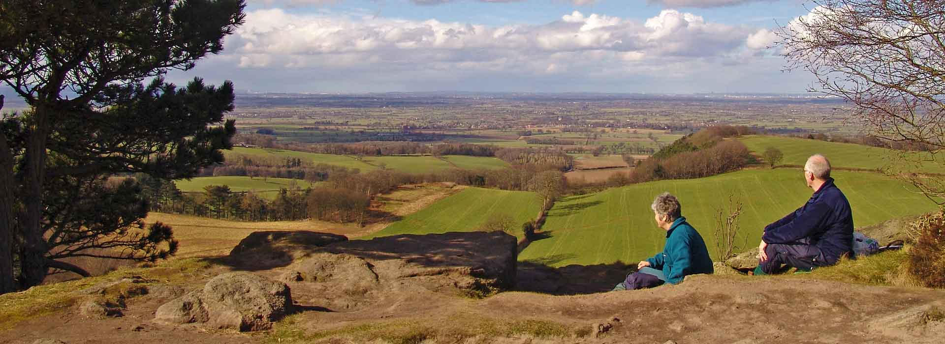 Walking Cheshire's Sandstone Trail official guide